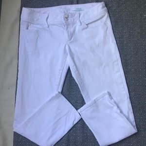 Lily Pulitzer White Jeans Size 8